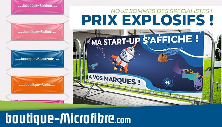 Banderole imprimée en France